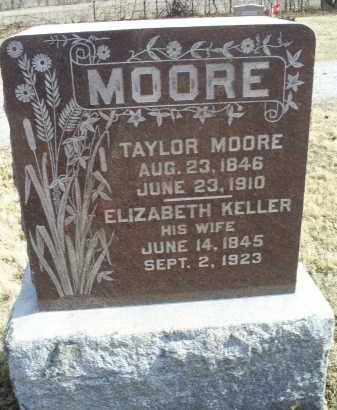 MOORE, ELIZABETH - Ross County, Ohio | ELIZABETH MOORE - Ohio Gravestone Photos