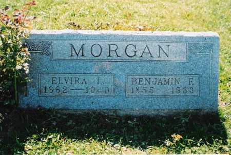 MORGAN, BENJAMIN FRANKLIN - Ross County, Ohio | BENJAMIN FRANKLIN MORGAN - Ohio Gravestone Photos