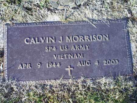 MORRISON, CALVIN J. - Ross County, Ohio | CALVIN J. MORRISON - Ohio Gravestone Photos