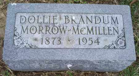 MORROW-MCMILLEN, DOLLIE - Ross County, Ohio | DOLLIE MORROW-MCMILLEN - Ohio Gravestone Photos