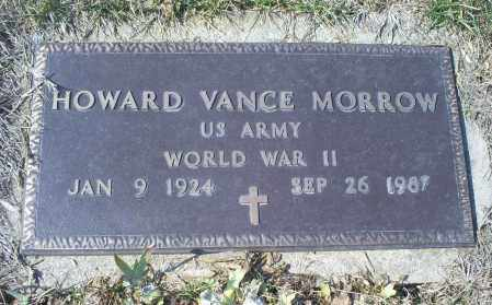MORROW, HOWARD VANCE - Ross County, Ohio | HOWARD VANCE MORROW - Ohio Gravestone Photos