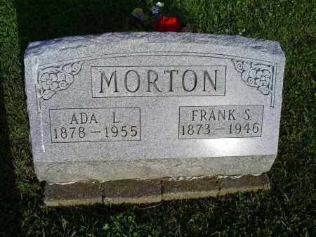 MORTON, ADA L. - Ross County, Ohio | ADA L. MORTON - Ohio Gravestone Photos