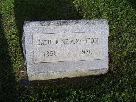 MORTON, CATHERINE A. - Ross County, Ohio | CATHERINE A. MORTON - Ohio Gravestone Photos