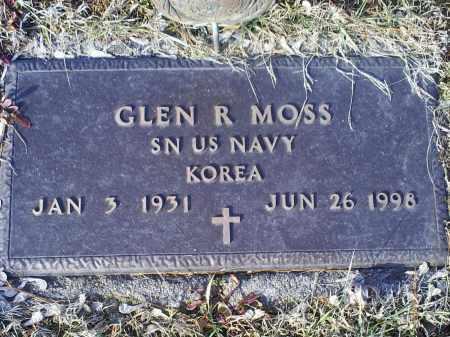 MOSS, GLEN R. - Ross County, Ohio | GLEN R. MOSS - Ohio Gravestone Photos