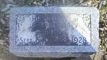 MOSS, HAROLD - Ross County, Ohio | HAROLD MOSS - Ohio Gravestone Photos