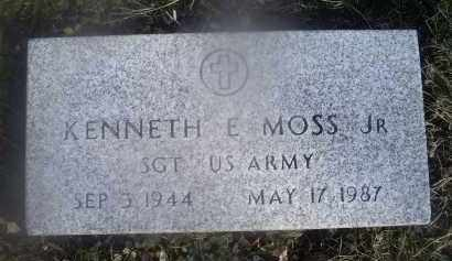 MOSS, KENNETH E. JR. - Ross County, Ohio | KENNETH E. JR. MOSS - Ohio Gravestone Photos