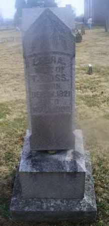 MOSS, LAURA - Ross County, Ohio | LAURA MOSS - Ohio Gravestone Photos