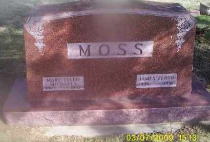 MICHAELS MOSS, MARY ELLEN - Ross County, Ohio | MARY ELLEN MICHAELS MOSS - Ohio Gravestone Photos