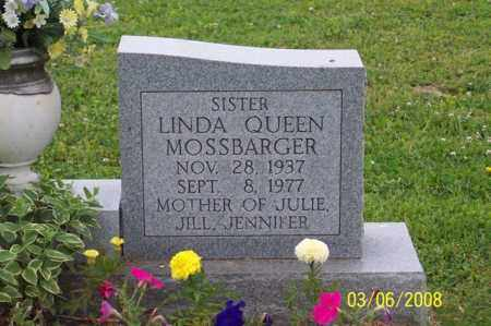 QUEEN MOSSBARGER, LINDA - Ross County, Ohio | LINDA QUEEN MOSSBARGER - Ohio Gravestone Photos