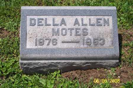 MOTES, DELLA - Ross County, Ohio | DELLA MOTES - Ohio Gravestone Photos