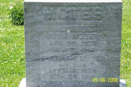 MOTES, JOHN - Ross County, Ohio | JOHN MOTES - Ohio Gravestone Photos
