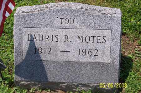 "MOTES, LAURIS R. ""TOD"" - Ross County, Ohio 