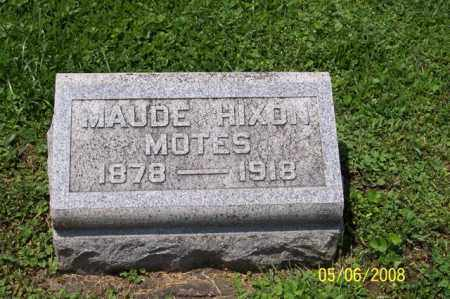 MOTES, MAUDE - Ross County, Ohio | MAUDE MOTES - Ohio Gravestone Photos