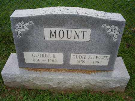 STEWART MOUNT, ODDIE - Ross County, Ohio | ODDIE STEWART MOUNT - Ohio Gravestone Photos