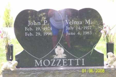 MOZZETTI, VELMA M. - Ross County, Ohio | VELMA M. MOZZETTI - Ohio Gravestone Photos
