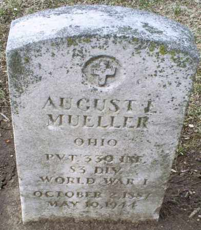 MUELLER, AUGUST L. - Ross County, Ohio | AUGUST L. MUELLER - Ohio Gravestone Photos