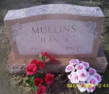MULLINS, JEAN A. - Ross County, Ohio | JEAN A. MULLINS - Ohio Gravestone Photos
