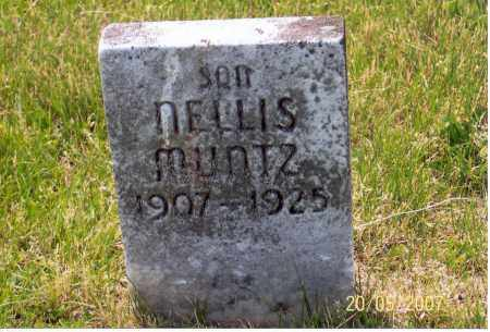MUNTZ, NELLIS - Ross County, Ohio | NELLIS MUNTZ - Ohio Gravestone Photos