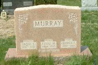 MURRAY, SADIE E. - Ross County, Ohio | SADIE E. MURRAY - Ohio Gravestone Photos