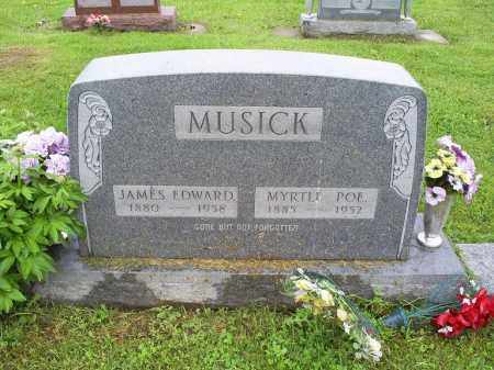 MUSICK, JAMES EDWARD - Ross County, Ohio | JAMES EDWARD MUSICK - Ohio Gravestone Photos