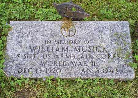 MUSICK, WILLIAM - Ross County, Ohio | WILLIAM MUSICK - Ohio Gravestone Photos