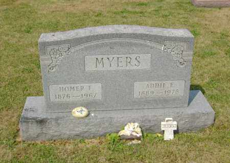 MYERS, HOMER FREDERICK - Ross County, Ohio | HOMER FREDERICK MYERS - Ohio Gravestone Photos