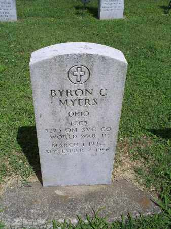 MYERS, BYRON C. - Ross County, Ohio | BYRON C. MYERS - Ohio Gravestone Photos