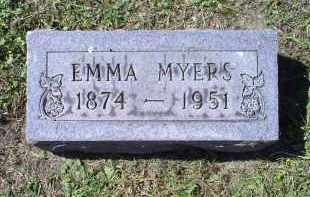 MYERS, EMMA - Ross County, Ohio | EMMA MYERS - Ohio Gravestone Photos