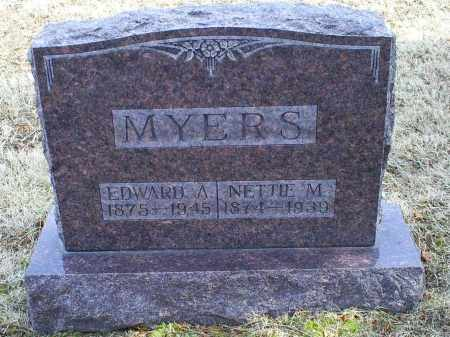 MYERS, NETTIE M. - Ross County, Ohio | NETTIE M. MYERS - Ohio Gravestone Photos
