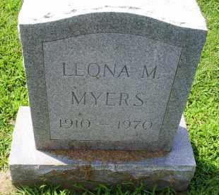 MYERS, LEONA M. - Ross County, Ohio | LEONA M. MYERS - Ohio Gravestone Photos