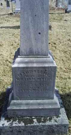 MYERS, MAGDALENE - Ross County, Ohio | MAGDALENE MYERS - Ohio Gravestone Photos
