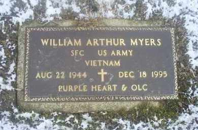 MYERS, WILLIAM ARTHUR - Ross County, Ohio | WILLIAM ARTHUR MYERS - Ohio Gravestone Photos