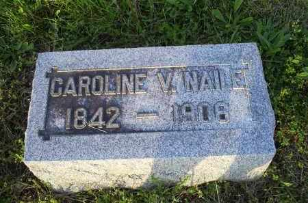 NAILE, CAROLINE V. - Ross County, Ohio | CAROLINE V. NAILE - Ohio Gravestone Photos