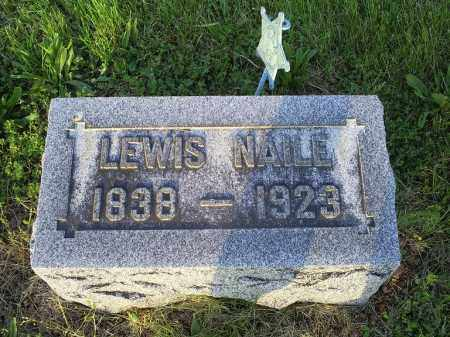 NAILE, LEWIS - Ross County, Ohio | LEWIS NAILE - Ohio Gravestone Photos