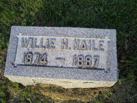 NAILE, WILLIE H. - Ross County, Ohio | WILLIE H. NAILE - Ohio Gravestone Photos