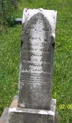 NEFF, CORA M. - Ross County, Ohio   CORA M. NEFF - Ohio Gravestone Photos