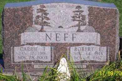 NEFF, ROBERT E. - Ross County, Ohio | ROBERT E. NEFF - Ohio Gravestone Photos