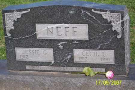 NEFF, CECIL L. - Ross County, Ohio | CECIL L. NEFF - Ohio Gravestone Photos