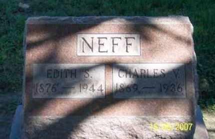 NEFF, CHARLES V. - Ross County, Ohio | CHARLES V. NEFF - Ohio Gravestone Photos