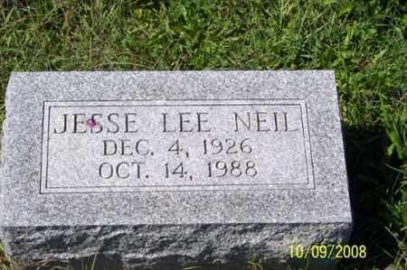 NEIL, JESSE LEE - Ross County, Ohio | JESSE LEE NEIL - Ohio Gravestone Photos