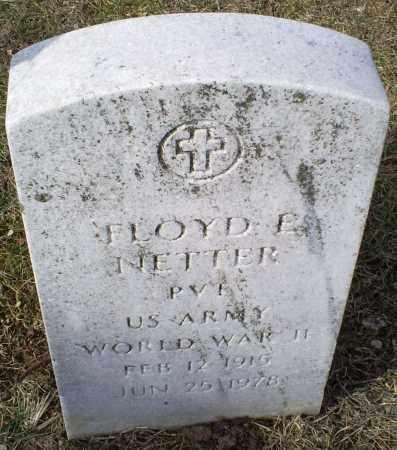 NETTER, FLOYD E. - Ross County, Ohio | FLOYD E. NETTER - Ohio Gravestone Photos