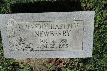 HASTINGS NEWBERRY, BEVERLY - Ross County, Ohio | BEVERLY HASTINGS NEWBERRY - Ohio Gravestone Photos