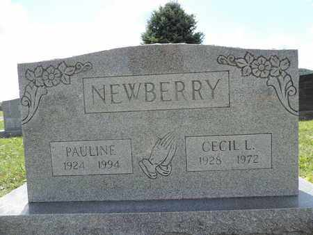 NEWBERRY, CECIL L. - Ross County, Ohio | CECIL L. NEWBERRY - Ohio Gravestone Photos