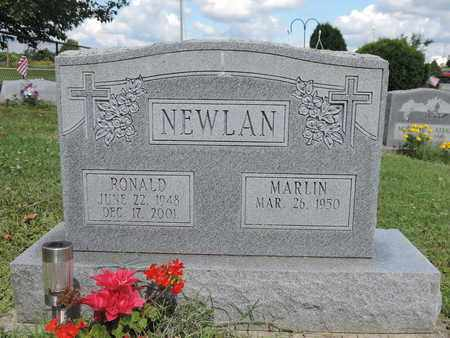 NEWLAN, MARLIN - Ross County, Ohio | MARLIN NEWLAN - Ohio Gravestone Photos