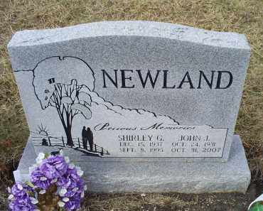 NEWLAND, JOHN J. - Ross County, Ohio | JOHN J. NEWLAND - Ohio Gravestone Photos