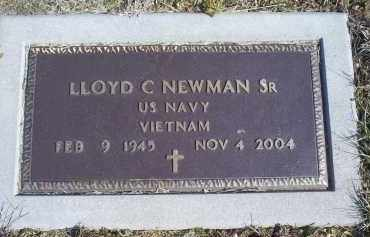 NEWMAN, LLOYD C. SR. - Ross County, Ohio | LLOYD C. SR. NEWMAN - Ohio Gravestone Photos