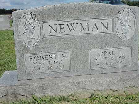 NEWMAN, ROBERT E. - Ross County, Ohio | ROBERT E. NEWMAN - Ohio Gravestone Photos