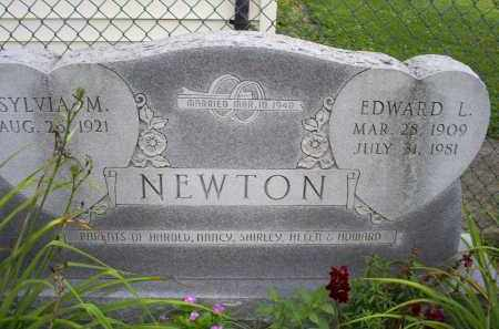 NEWTON, EDWARD L. - Ross County, Ohio | EDWARD L. NEWTON - Ohio Gravestone Photos