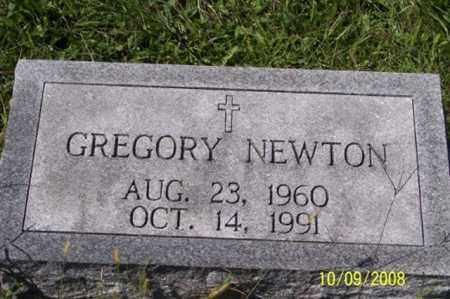 NEWTON, GREGORY - Ross County, Ohio | GREGORY NEWTON - Ohio Gravestone Photos