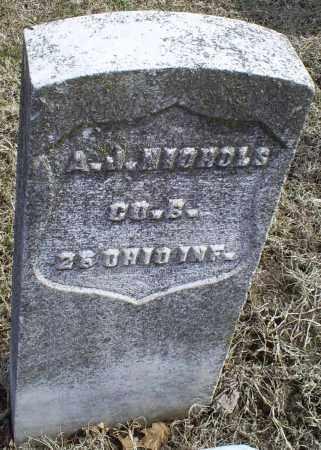 NICHOLS, A. J. - Ross County, Ohio | A. J. NICHOLS - Ohio Gravestone Photos
